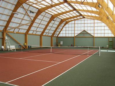 Eclairage led terrain de tennis for Revetement court de tennis