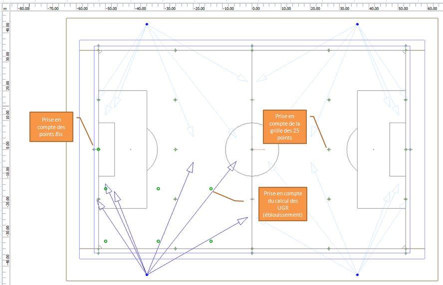 eclairage led terrain de football. Black Bedroom Furniture Sets. Home Design Ideas